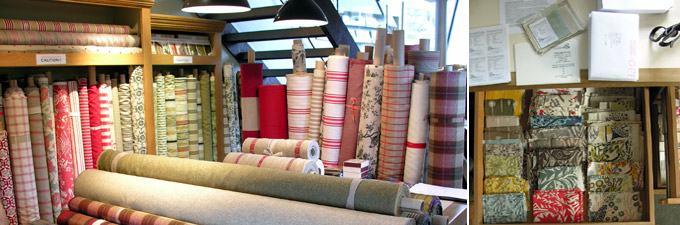 natural fabrics from Tinsmiths