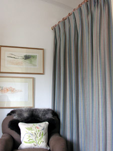 Bluebell Wood Linen Curtains