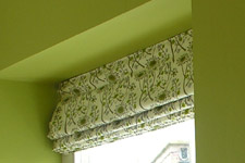 Roman Blind in Hedgerow by Angie Lewin, St. Jude's