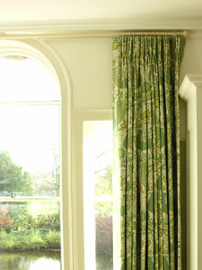 Linen Curtains in Peacock