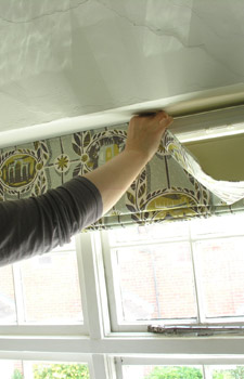 wilson blinds fitting instructions installing a garage door. Black Bedroom Furniture Sets. Home Design Ideas